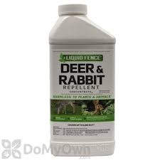 Liquid Fence Deer Rabbit Repellent Concentrate 40 Oz