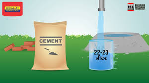 Birla A1 - Water Cement Ratio
