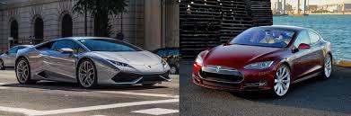 Tesla Model S vs Lamborghini Huracán ...