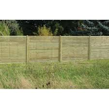 Slatted Fence Panel 1800mm X 1500mm Worcester Timber Products