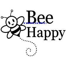 Bee Happy Car Decal Vinyl Car Decals Vinyl Car Window Decal Vinyl Letters Signage Wall Decal Laptop Decals Bee Dec Car Decals Vinyl Vinyl Lettering Happy Signs