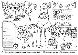 Sinterklaas Kleurplaat Maak Kans Op Een Speelgoed Cadeaukaart