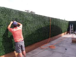Artificial Boxwood Hedge Used For Decor And Functionality Geranium Street