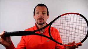 Test de la raquette de tennis Wilson Burn 100 CV - YouTube