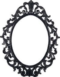 psd detail ornate pewter frame