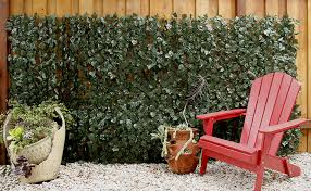 Artificial Ivy Fence Roll Single Sided Geranium Street