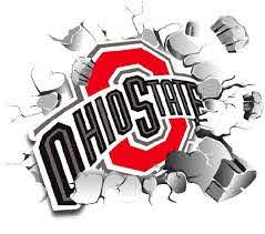 Osu Wall Decal The Ohio State Logo Busting Wall Decal Vinyl Wall Decal Infinite Graphics Sports Decals Home Decor Ohio State Logo Sports Decals Osu Art