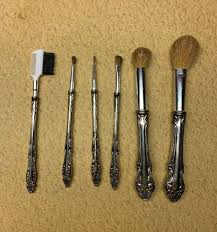 1997 shaklee clic makeup brush set