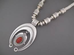 c necklace by nelson be navajo