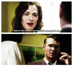 Jack Thompson and Agent Peggy Carter ...