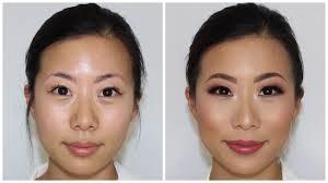 asian eyes client makeup tutorial