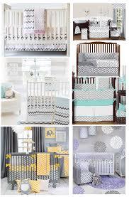 best grey chevron baby bedding grey