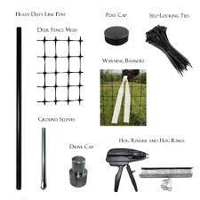 Diy Assembly Instructions For Deer Fence And Posts