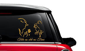 Tale As Old As Time Beauty And The Beast Decal Car Mac Etsy
