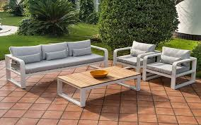 patio sofa set lounge teak ceramic