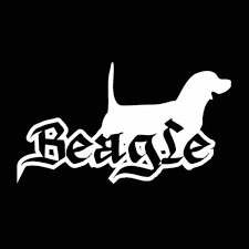 Beagle Car Decals Oil Treasures