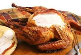 deep fried turkey with garlic lemon