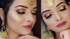 indian punjabi bridal makeup tutorial