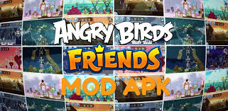 Angry Birds Friends MOD APK Hack Unlimited Power Ups, Coins