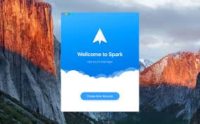 spark email app launches on mac with