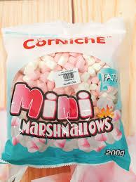 Kẹo Xốp Marshmallow Mini Trắng Hồng 200gr - Siêu Thị Ngành Bánh -  dungculambanh.com.vn