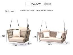 großhandel mode schaukel sofa stuhl