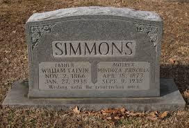 Mindoza Priscilla Scott Simmons (1873-1938) - Find A Grave Memorial