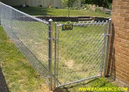 Ohio Fence Company Eads Fence Co Residential Chain Link Fences