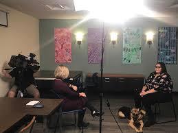 CBS 2 Dana Kozlov interviewing one of... - Blind Service Association    Facebook