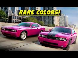 dodge challenger limited edition paint