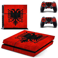 Albania National Flag Ps4 Skin Sticker Decal For Sony Playstation 4 Console And 2 Controllers Ps4 Skin Sticker Vinyl Decal Skin Sticker Decal Stickersony 4 Stickers Aliexpress