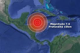 TERREMOTO tra Cuba e Honduras, rischio tsunami « 3B Meteo