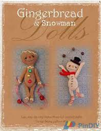Sue Aucoin-Gingerbread doll / Snowman from Thread Bears-Communication  Area-Bounty Area-PinDIY -