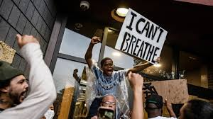George Floyd: Protesters clash with ...