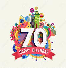 Cumpleanos 70 Anos Setenta Tarjeta De Felicitacion De La Diversion