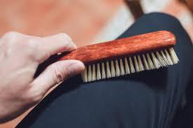 kent suit brush cashmere wool