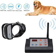 2in1 Wireless Dog Fence Electric Pet Training Containment System Safe Effective Adjustable Control Range Display Distance Suitable For Small Medium Big Dogs With Rechargeable Receiver Collar 1dog Amazon Ca Pet Supplies