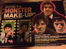 1976 pressman tv monster make up