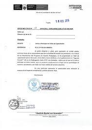 Modelo De Oficio De Invitacion Cartas De Invitacion