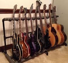 diy pvc multiple guitar stand
