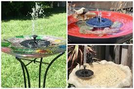 14 solar water fountain pump ideas