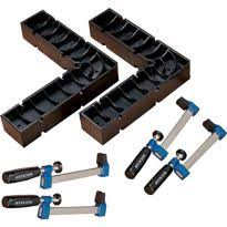 Rockler Universal Fence Clamp Kit 2 Universal Fence Clamps And 1 Clamp It Square Rockler Woodworking And Hardware