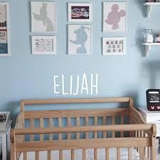 Amazon Com Vinyl Wall Art Decal Boys Name Elijah 12 X 23 Little Boys Bedroom Wall Decals Cute Wall Art For Baby Boy Nursery Room Decor 12 X 23