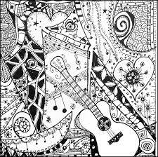 Kleurplaten Voor Volwassenen Muziek