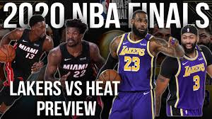 Los Angeles Lakers vs Miami Heat 2020 ...
