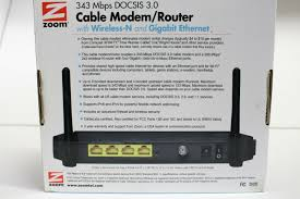 zoom 8x4 cable modem model 5345 time