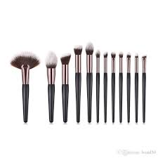 makeup brushes set fan flame concealer