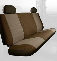 front bench seat cover molded headrest