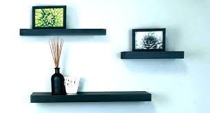 wall shelves with lights mount shelf