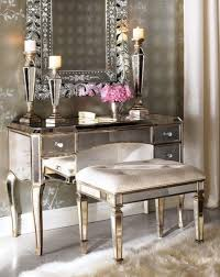 brilliant mirrored makeup vanity table